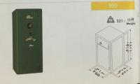 گاوصندوق نسوز یک طبقه مدل 300KR