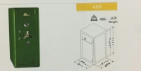 گاوصندوق نسوز یک طبقه مدل 450KR
