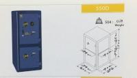 گاوصندوق نسوز دوطبقه مدل 550DKR